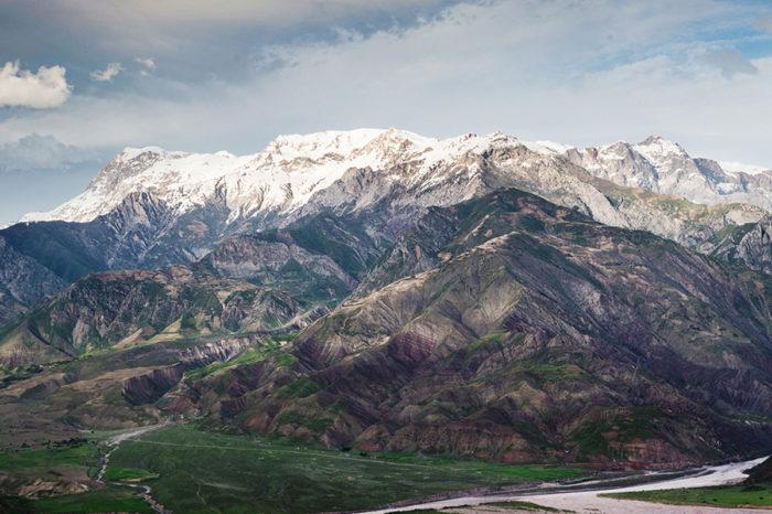 塔吉克斯坦+哈萨克斯坦