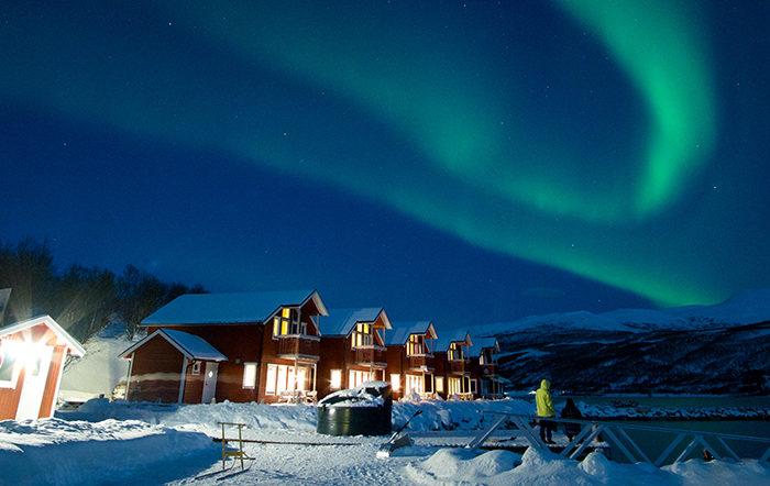 挪威幻境极光