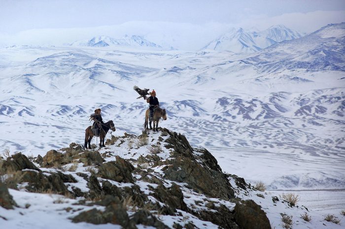 Mongolia Altai with Eagle Hunter