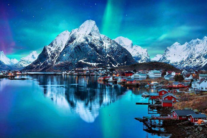 挪威北极圈极光之旅:罗佛敦+特罗姆瑟