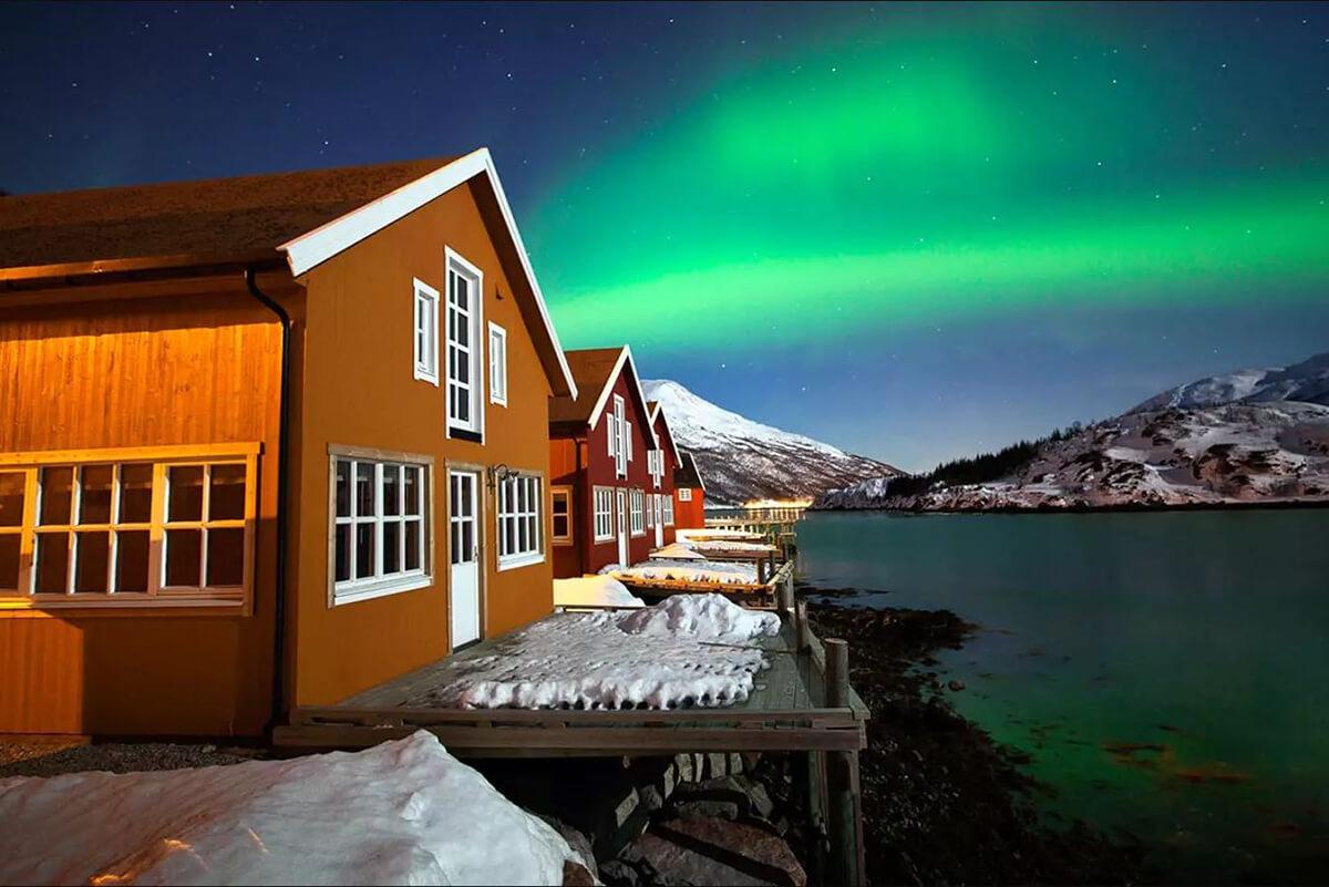 挪威极夜+极光(农历新年)