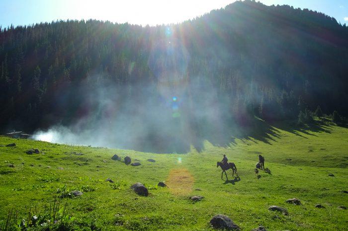 吉尔吉斯斯坦游牧天堂